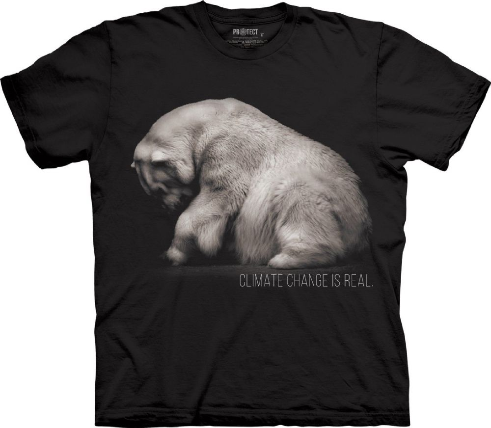 Climate Change - Adult Polar Bear T-shirt - The Mountain®